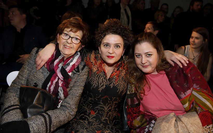 Margrét Magnúsdóttir, Elsa Yeoman og Dóra Sif Tynes.