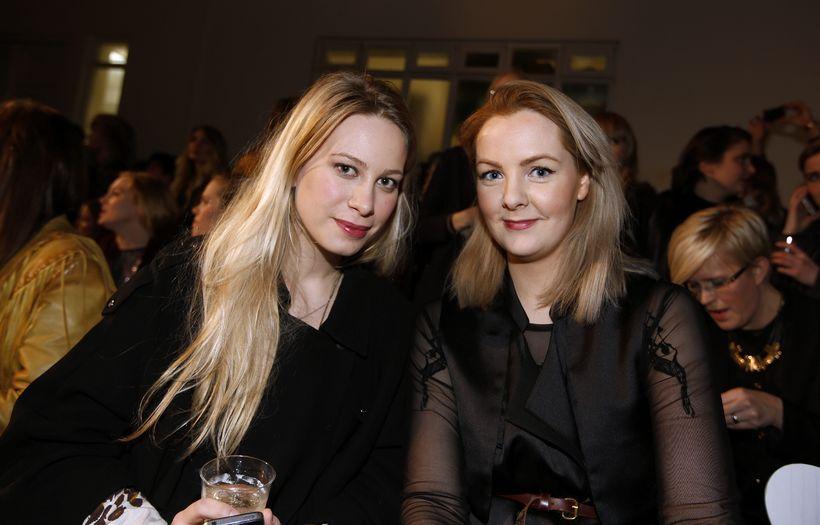 Sigurborg Selma Karlsdóttir og Theodóra Mjöll Skúladóttir.