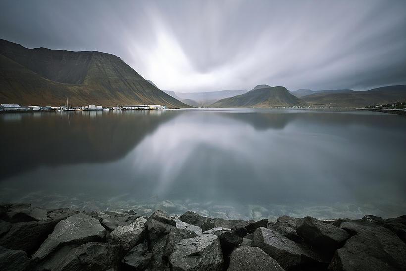 Ísafjörðurinn fagri umturnast árlega í rokkhöfuðborg landsins um páska.