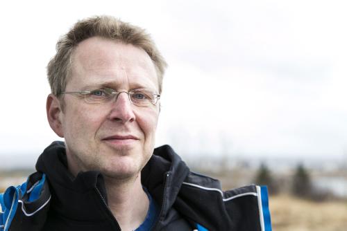 Ari Arnórsson, stofnandi Jakar ehf., framleiðanda Ísar bílanna.