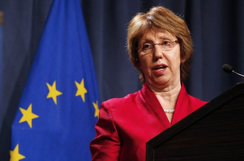 Catherine Ashton, utanríkismálastjóri Evrópusambandsins.