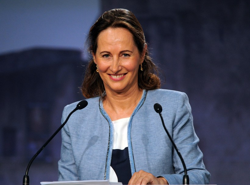 French Minister for Ecology, Sustainable Development and Energy, Ségolène Royal.