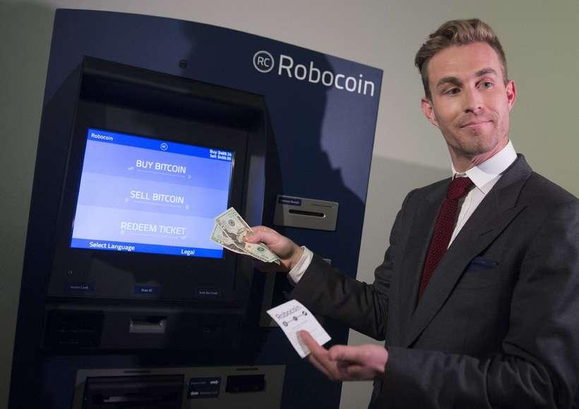 Bitcoin-hraðbankar njóta vinsælda víða.