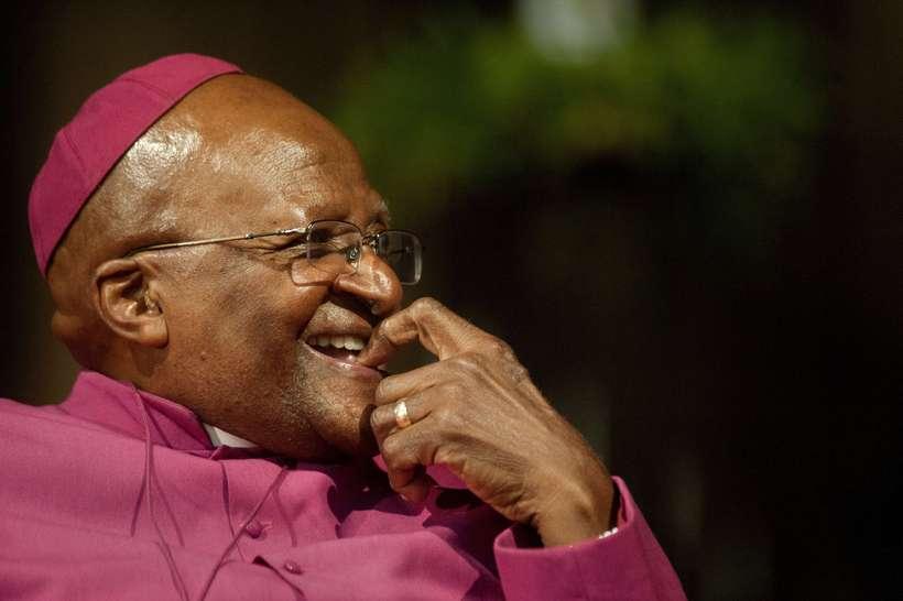 Erkibiskupinn og Nóbelsverðlaunahafinn Desmond Tutu.