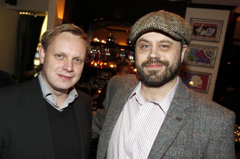 Torfi Kristjánsson og Bjarni Ólafsson.