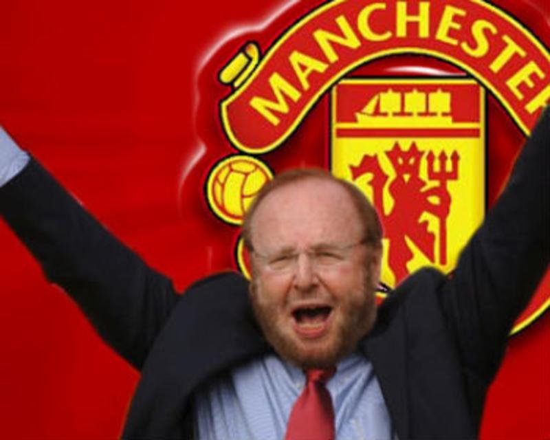 Malcolm Glazer stóð fyrir kaupunum á United árið 2005 en …