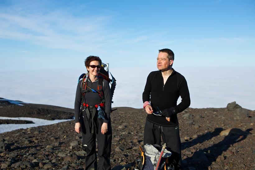 Ólafur Baldursson og kona hans, Hulda Harðardóttir.