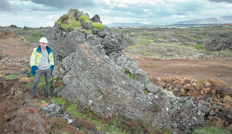 The rock is possibly Ófeigskirkja, a rock mentioned in Icelandic ...