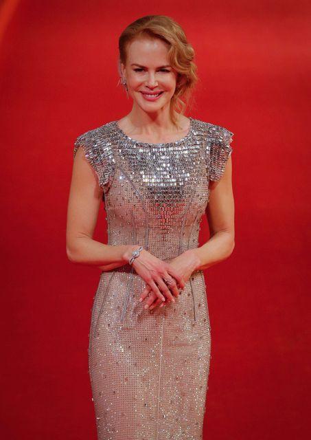 Nicole Kidman í kjól frá Dolce & Gabbana frá því …