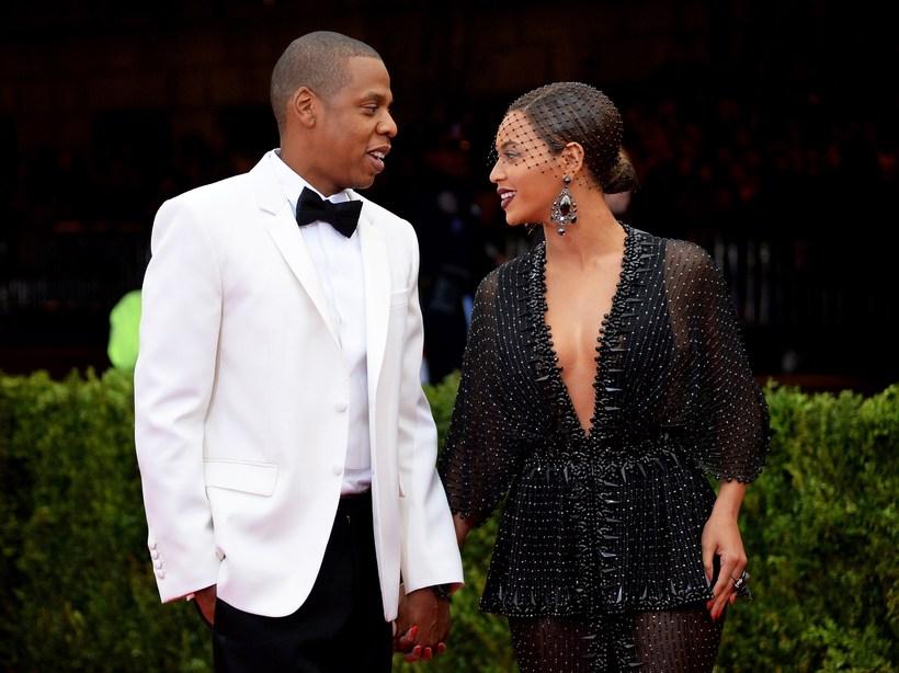 Jay-Z og Beyonce.