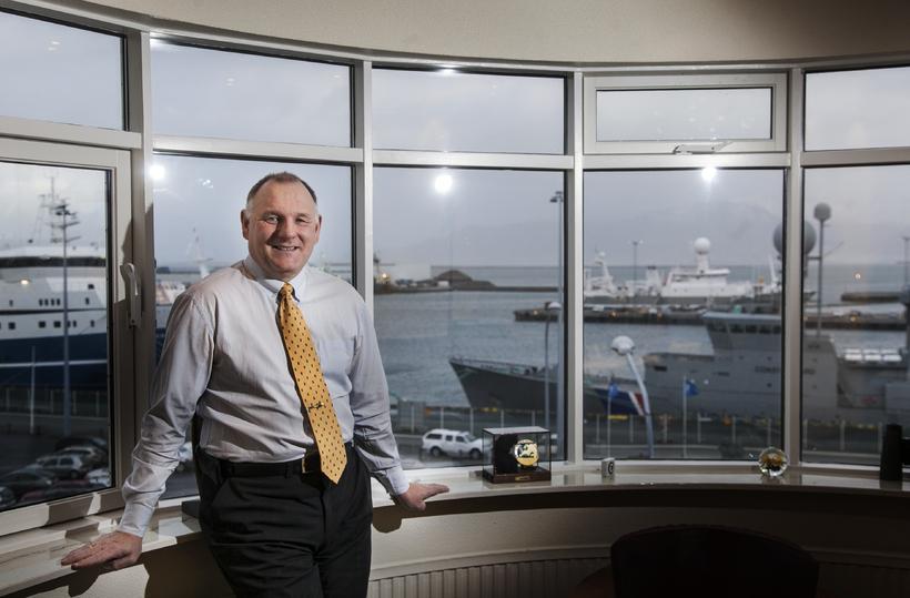 Gísli Gíslason, harbormaster of the Associated Icelandic Ports.