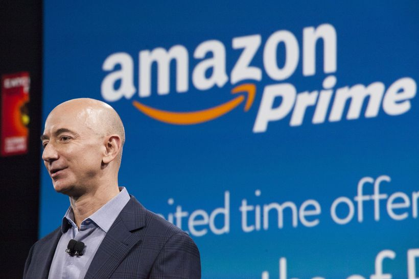 Jeff Bezos, forstjóri Amazon.