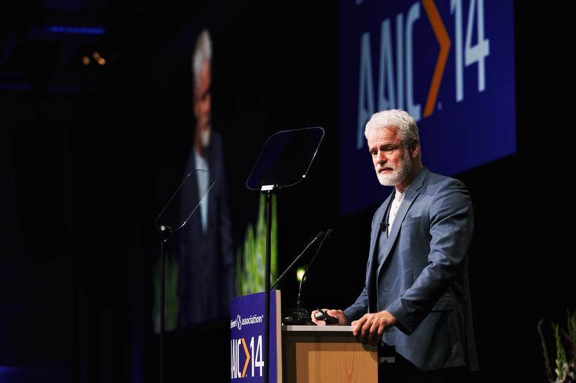 Kári Stefánnsson heldur fyrirlestur hjá bandarísku Alzheimers samtökunum.