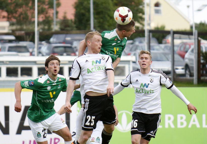 Arnór Sveinn Aðalsteinsson, Hólmar Örn Rúnarsson og Jón Ragnar Jónsson ...
