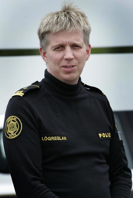 Víðir Reynisson, deildarstjóri almannavarna.