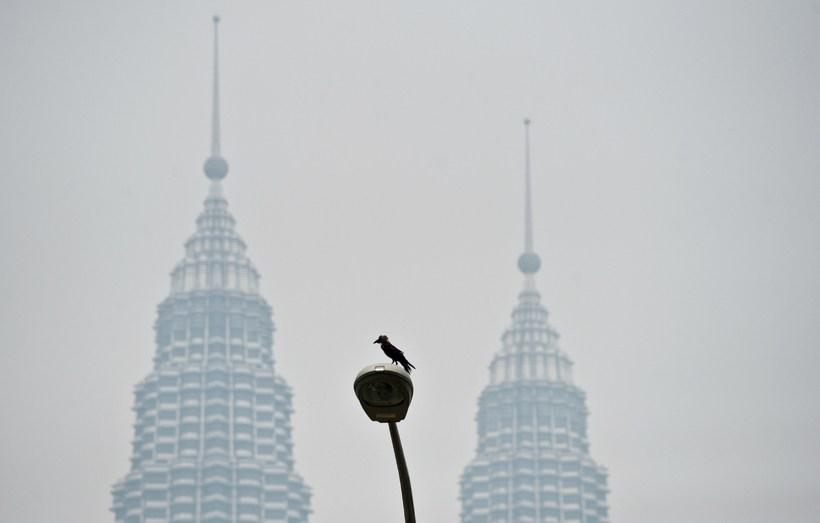 Tvíburaturnarnir í Kuala Lumpur. Veðurfarsbreytingar í hitabeltisborgum á borð við …