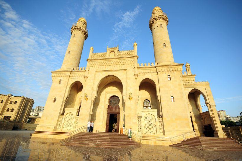 A mosque in Azerbaijan.