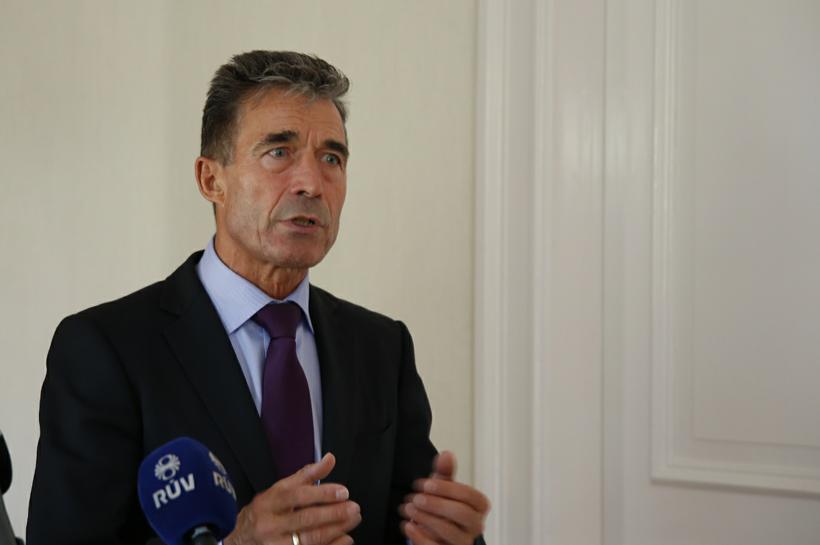 Anders Fogh Rasmussen, framkvæmdastjóri NATO.