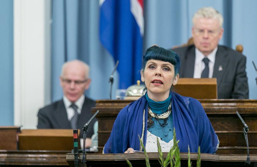 Birgitta Jónsdóttir er þingflokksformaður Pírata.
