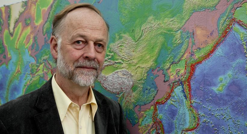Professor Páll EInarsson.