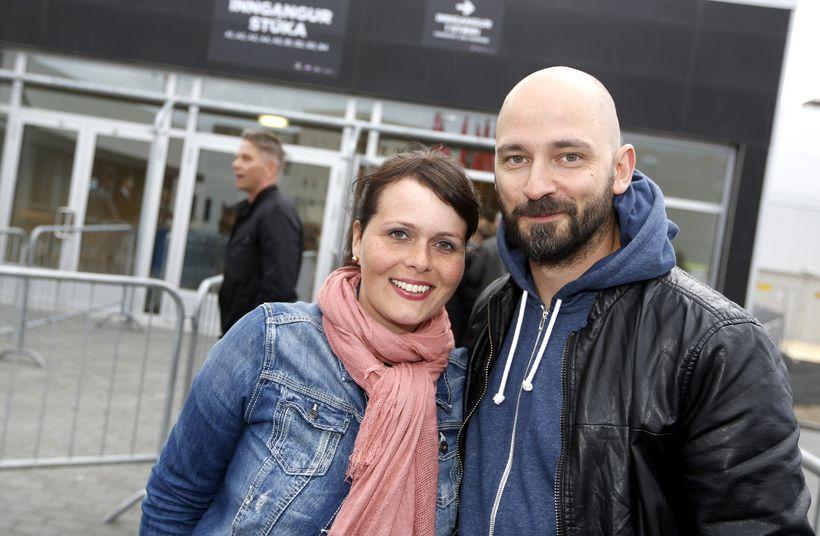 Eyrún Huld Harðardóttir og Magni Ásgeirsson.