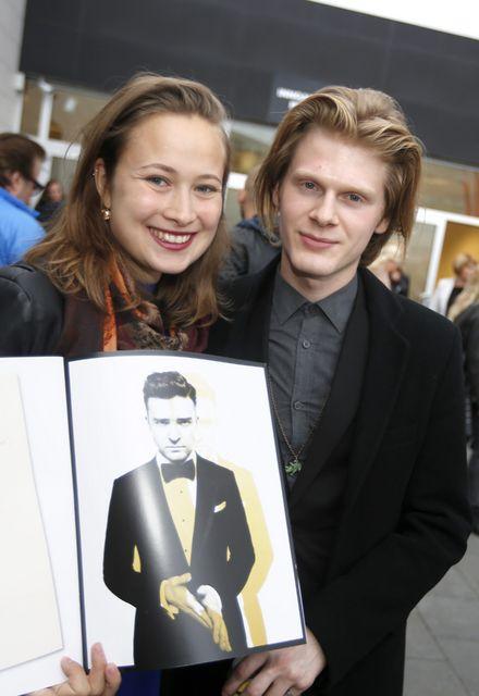 Rakel Dawn Hanson og Atli Freyr Steinsson.