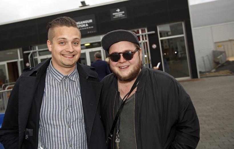 Kristján Páll Kristjánsson og Ragnar Þórhallsson.