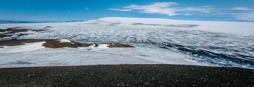 Bárðarbunga seen from Hamarinn.