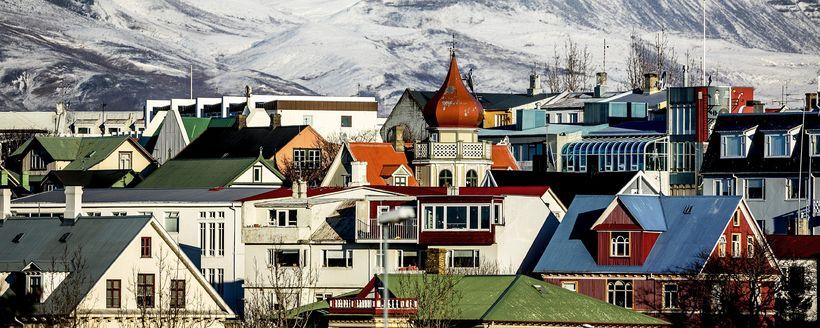 Flestar Airbnb-íbúðir í Reykjavík eru í miðbænum.