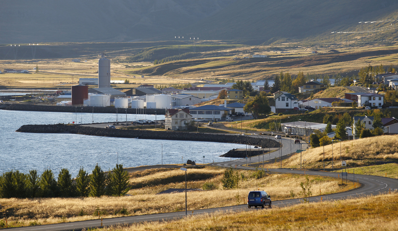 Reyðarfjörður.