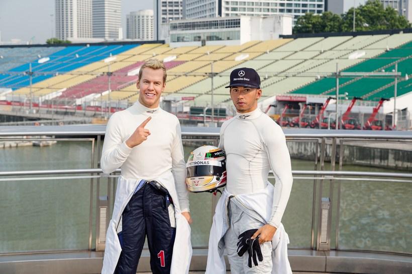 Vaxmenn. Vaxmyndasafn Madame Tussauds í Singapúr hefur steypt Sebastian Vettel …