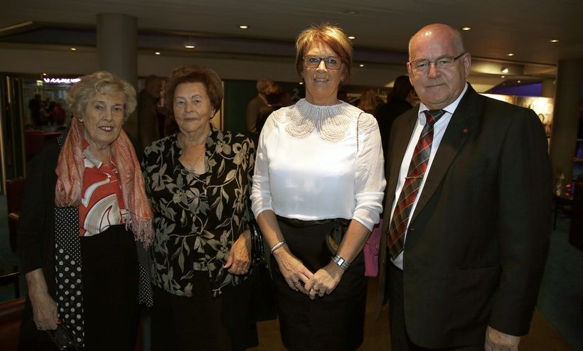 María Haraldsdóttir, Helena Sigtryggsdóttir, Oddný Jóhannsdóttir og Kristján Möller.