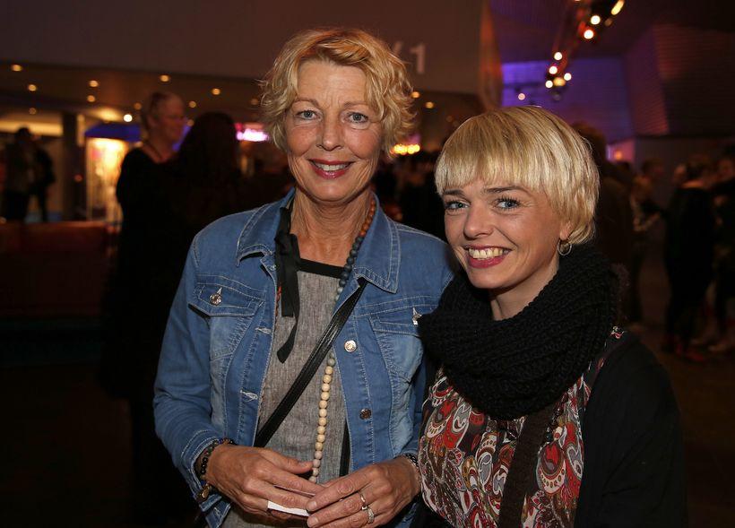 Erna Haraldsdóttir og Sara Karlsdóttir.