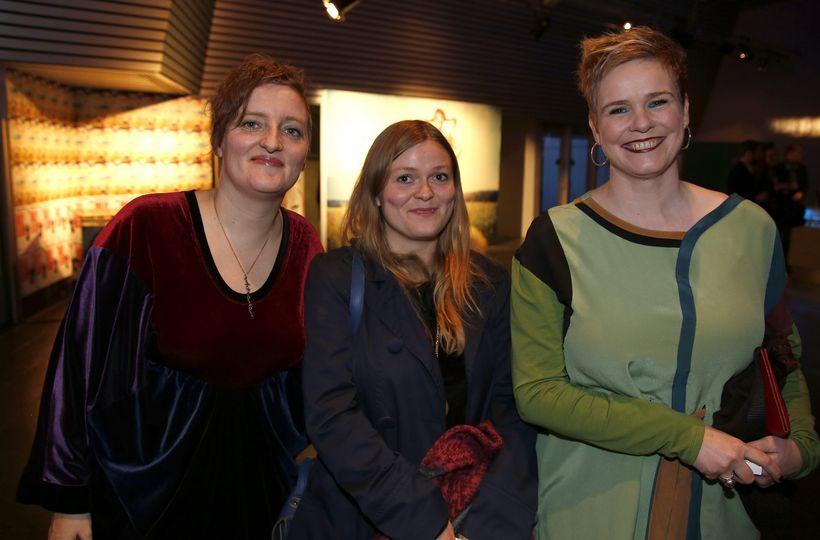 Kristín Eysteinsdóttir, Eva Rún Snorradóttir og Ragnheiður Skúladóttir.