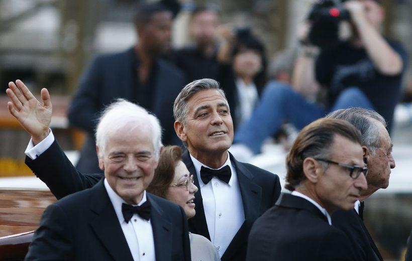 George Clooney er einstaklega náinn föður sínum Nick Clooney. Sá ...