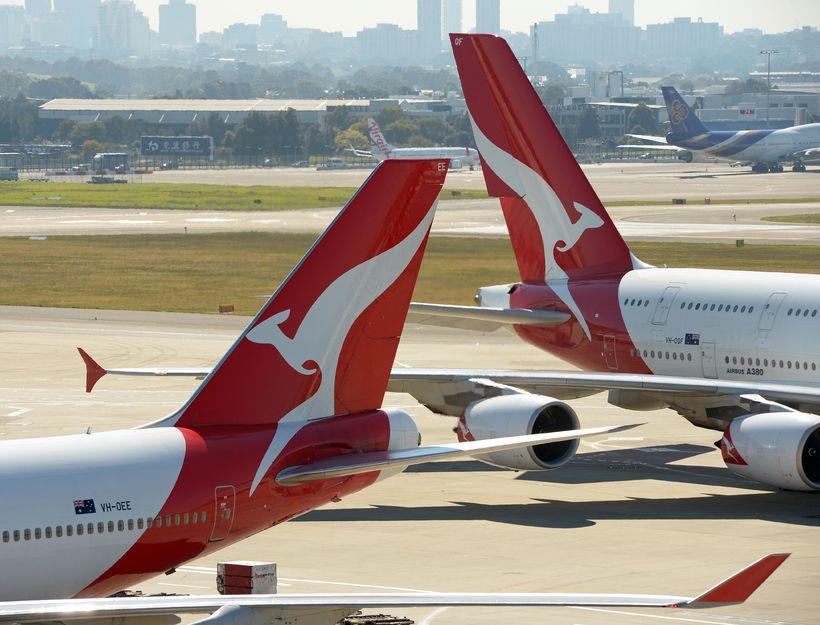 Qantas var valið öruggasta farþegaflugfélag heims þriðja árið í röð.