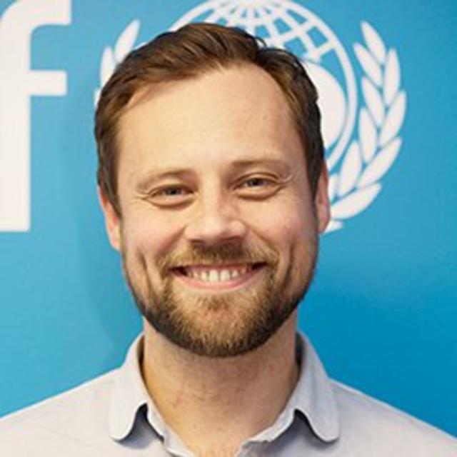 Bergsteinn Jónsson, framkvæmdastjóri UNICEF á Íslandi.