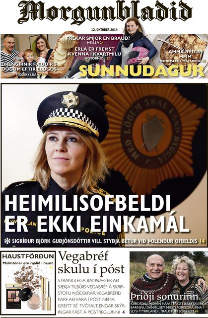 Sunnudagsblað Morgunblaðsins.