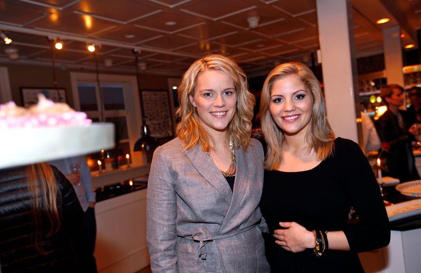 Edda Hermannsdóttir og Eva Laufey Kjaran Hermannsdóttir.