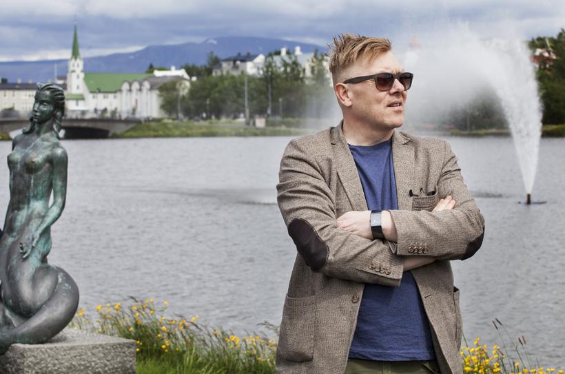 Jón Gnarr, fv. borgarstjóri.