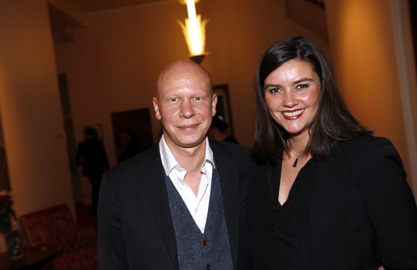 Ólafur Egill Egilsson og Esther Talía Casey.