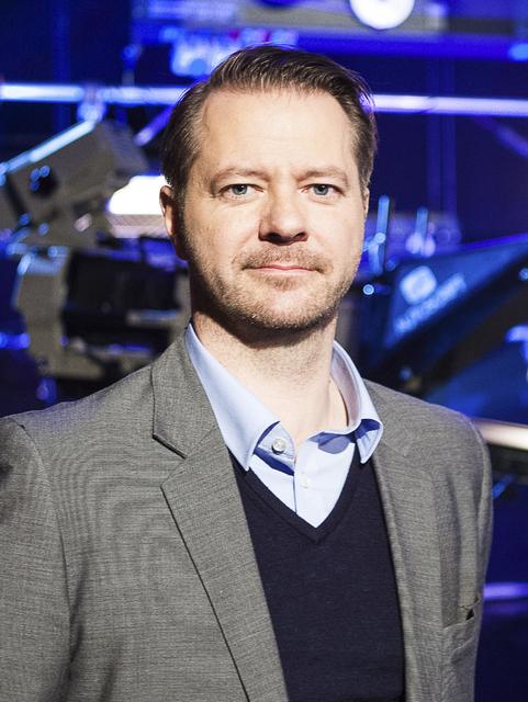 Skarphéðinn Guðmundsson, dagskrárstjóri sjónvarps hjá RÚV.