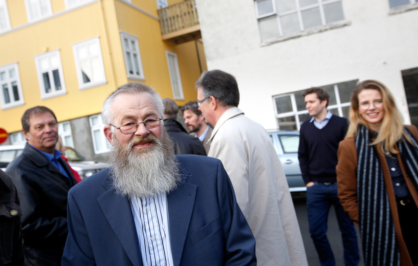 Tryggvi Magnússon, umsjónarmaður gistiskýlisins.