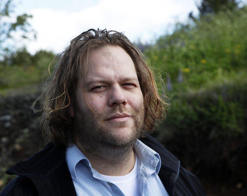 Ólafur Darri Ólafsson plays the role of Skender in the …