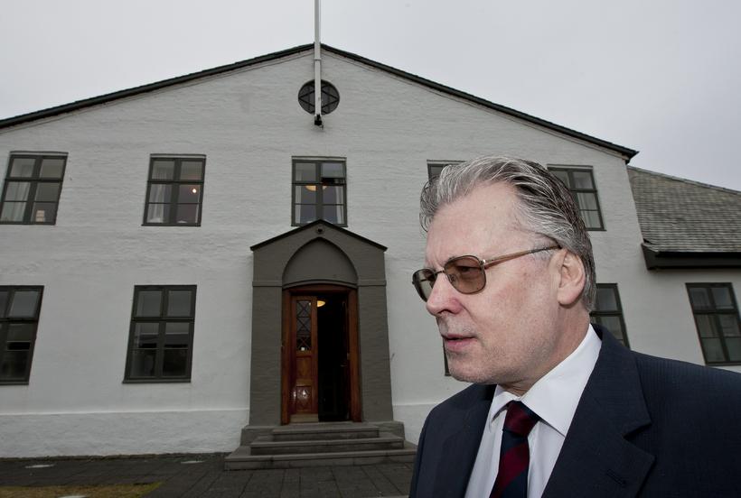 Ögmundur Jónasson, þáverandi innanríkisráðherra.