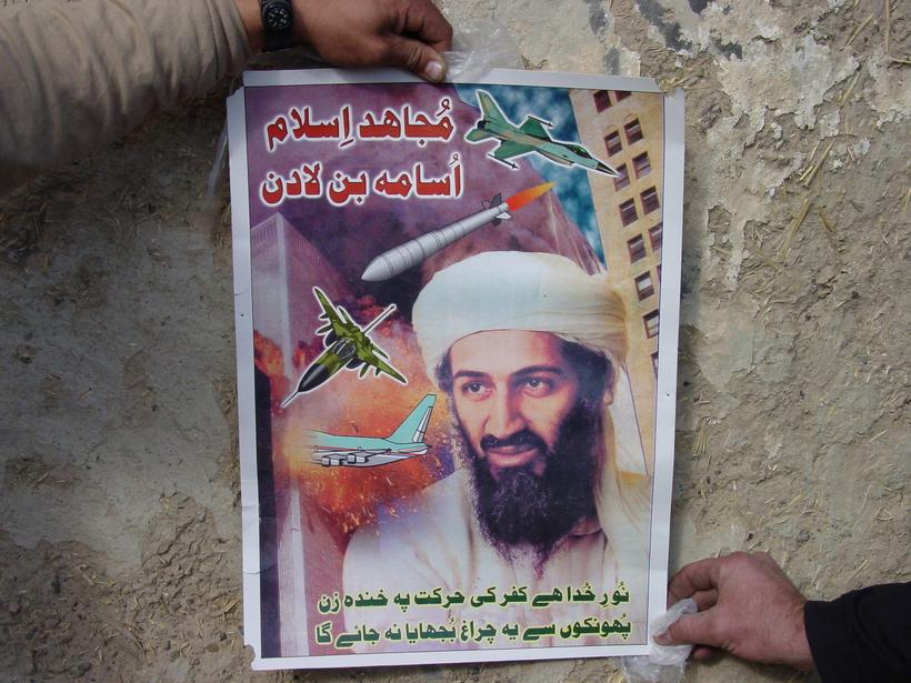 Osama bin Laden var drepinn af sérsveitarmönnum árið 2011 og ...