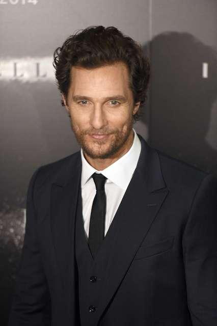 Matthew McConaughey .
