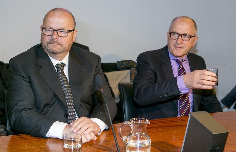 Sigurður Einarsson og Ólafur Ólafsson.