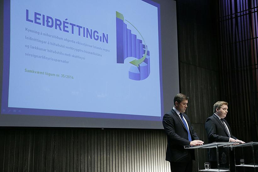 Viðsnúningurinn milli ára skýrist að stórum hluta með því að ...