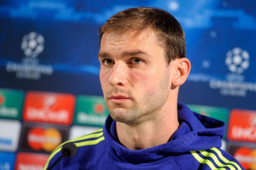 Branislav Ivanovic, serbneski varnarmaðurinn sem lék með Chelsea í níu …